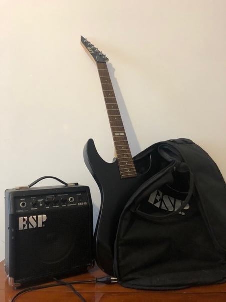 Электрогитару Гитарный набор ESP M-10