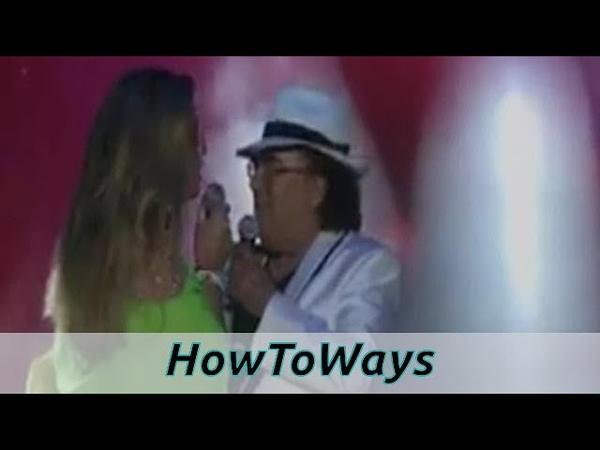 Al Bano e Romina Power, bacio sulle labbra il video rubato manda i fan in delirio - notizie 24h
