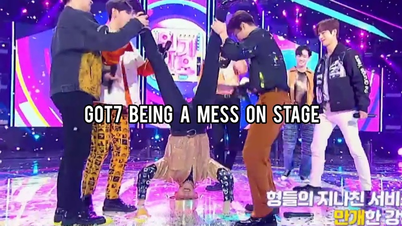 Got7 being a mess on stage | Eclipse performance