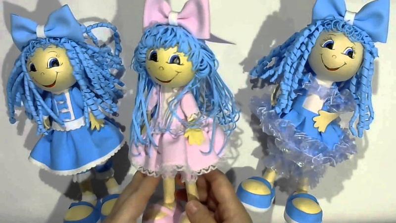Ролик куклы Мальвинки