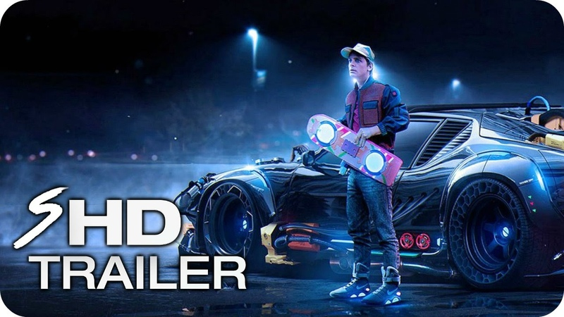 Back to the Future 4 - Teaser Trailer Concept 1 Michael J. Fox, Christopher Lloyd (Fan Made)