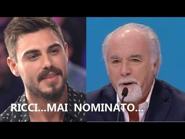 """RICCI SU MONTE E IL GF VIP """"Più bestie entrano e più siamo contenti"""""""