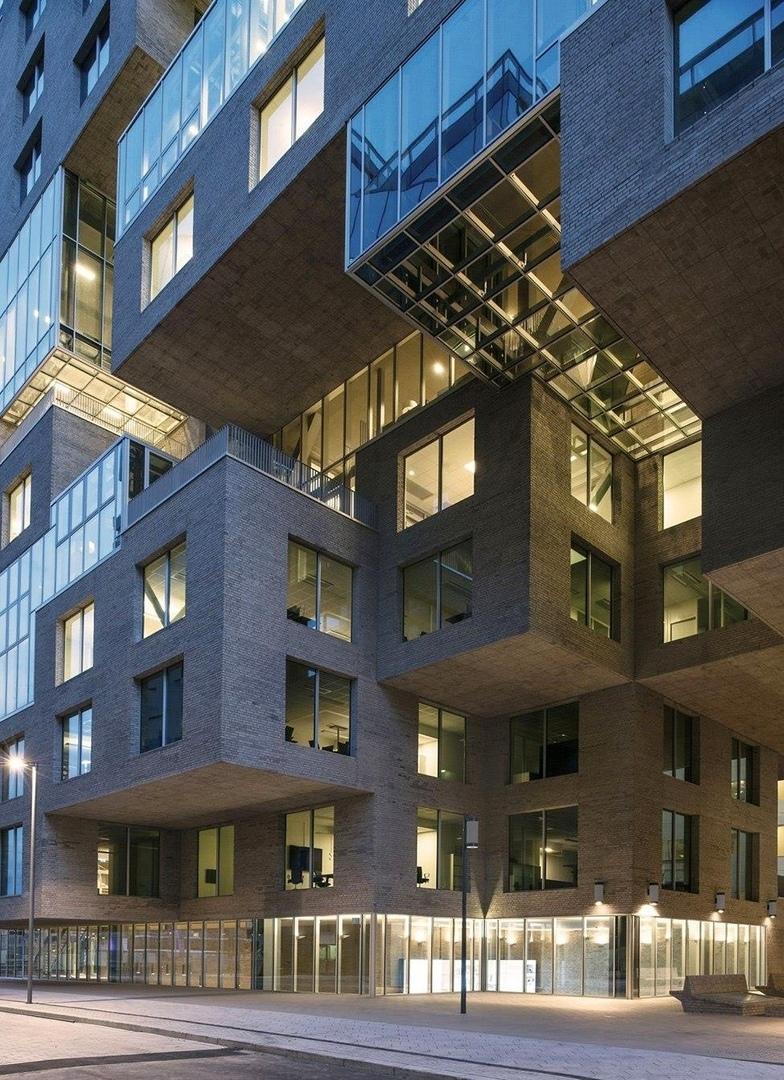 Архитектурное бюро «MVRDV» при содействии норвежской студии «DARK arkitekter AS» завершило проект головного офиса банка DNB, расположенного в городе Осло (Норвегия).
