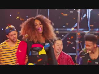 TENNIS SUPERSTAR LIP SYNC BATTLE ANDY RODDICK, BROOKLYN DECKER & SERENA WILLIAMS
