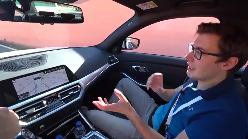 [Alan Enileev] ПЕРВЫЙ ТЕСТ НА НОВУЮ БМВ 3-Series G20 2019! BMW 330i -vs- 320d! Обозреваем вместе с Пашей Блюденовым