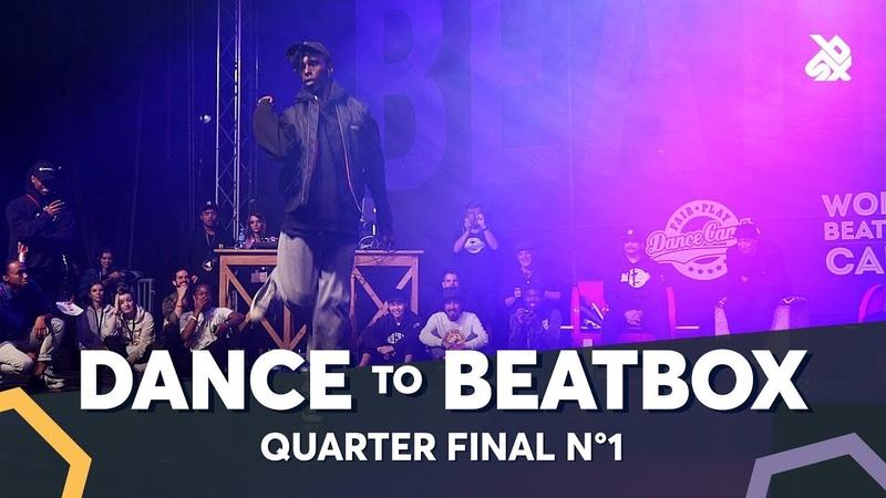 BOUBOO vs PIOTR PI feat. EFAYBEE PASH | Dance Battle To The Beatbox 2018 | 1/4 Final