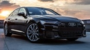 2019 AUDI A6 - NEW LEADER IN CLASS - 50TDI 286hp/620Nm - BLACKED OUT Mythos black optics
