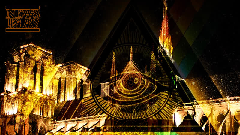 Illuminati Symbolism To Replace Christian Cross On Notre Dame Cathedral