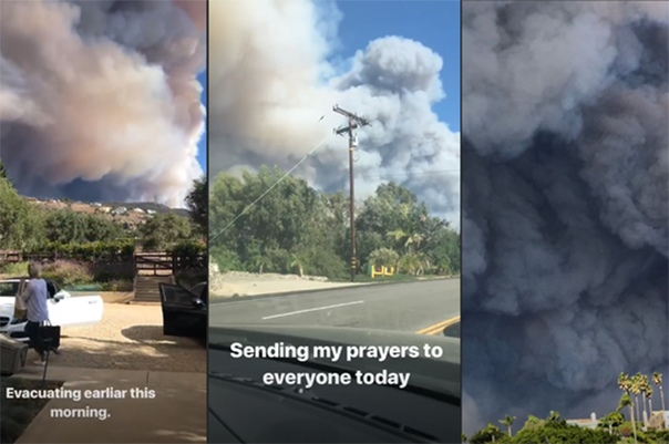 Майли Сайрус, Леди Гага, Джерард Батлер и другие звезды пострадали от пожаров в Калифорнии В Калифорнии продолжают бушевать разрушительные лесные пожары, которые уже вплотную подошли к