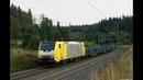 Raildox 187, TX Logistik, RTS, LTE, Stock Maxima uvm. auf der Frankenwaldbahn