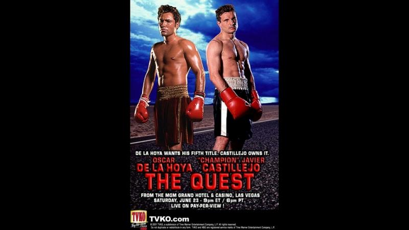 Оскар Де Ла Хойя vs Хавьер Кастильехо (Oscar De La Hoya vs Javier Castillejo) 23.06.2001