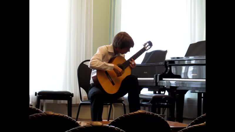03 - Альгашев Геннадий - Прелюдия для гитары № 1 e-moll W419 1(Э. Вилла-Лобос)