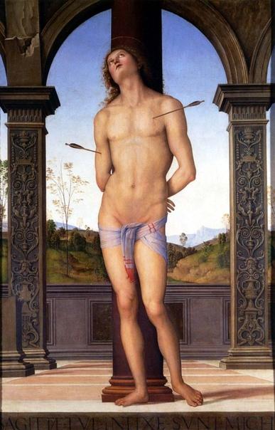 ПЬЕТРО ПЕРУДЖИНО Предположительно в 1446 году в умбрийском городе Читта делла Пьеве родился Пьетро ди Кристофоро Вануччи. Спустя треть века о нем заговорил Рим, а сегодня имя Пьетро Перуджино