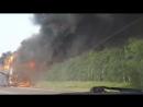 Десятки людей едва не сгорели заживо в маршрутном автобусе под Барнаулом
