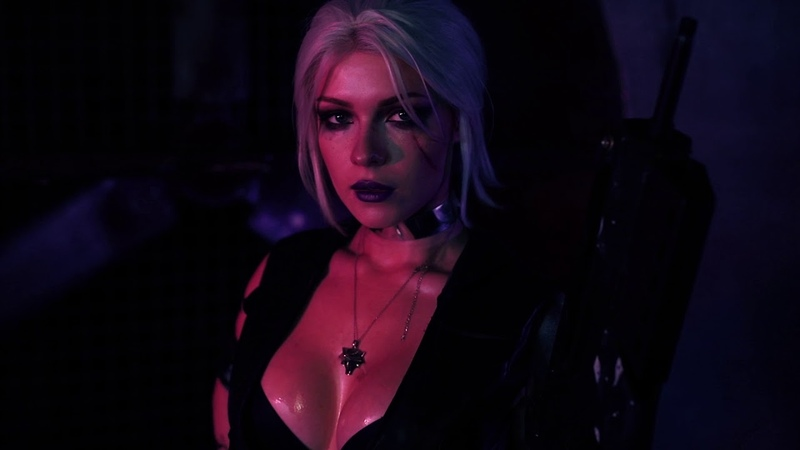 Ciri - Cyberpunk 2077 inspired photoshoot