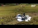 Польский истребитель разбился
