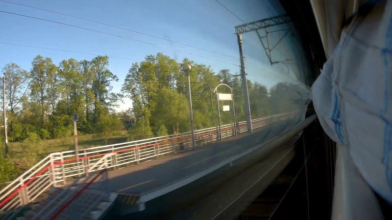 Федулово Владимир из окна поезда№041Г Нижний Новгород Великий Новгород 11 05 2019