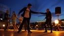 Румба 1 - Open air - Бальные танцы в Парке Горького, Москва, 14 августа 2018