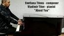 Svetlana Titova - About You V.Titov plays