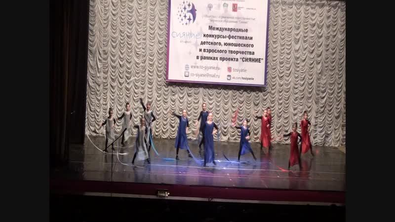 Танец Россия ансамбль Фиеста Конкурсный номер на 1 м Международном конкурсе фестивале Сияние столицы г Москва