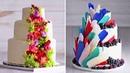 A wedding Cake that's fit for a PRINCESS | Cake Hacks | Homemade Royal Wedding Cake Ideas | So Yummy