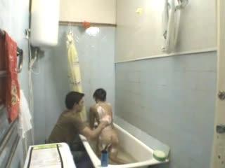 Парень занялся сексом с однокурсницей-казашкой в туалете общежития _ русские ази
