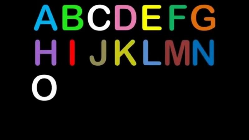 РАЗВИВАЮЩИЙ МУЛЬТИК Детские песенки, поем английский алфавит Весело учим буквы!