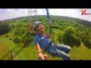 Прыжок с веревкой - 65 метров!