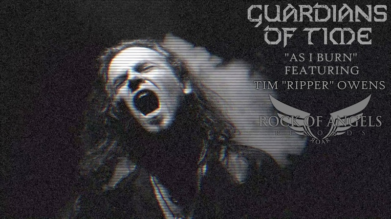 GUARDIANS OF TIME As I Burn Feat Tim Ripper Owens Official Video