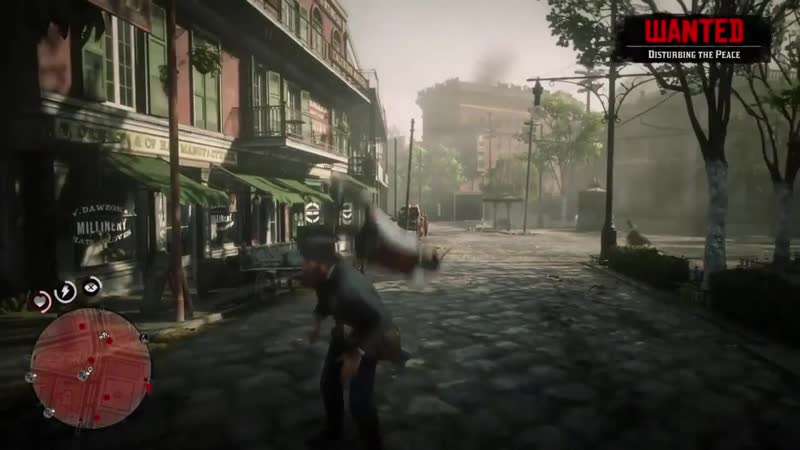 Got into trouble with the Law. Dutch came from the sky to help me. Red Dead Redemption 2