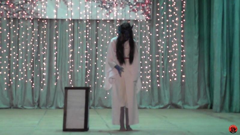 Ао-андон (Призрак из японского фольклора) (Ориджинал дефиле) - Haru no matata 2019