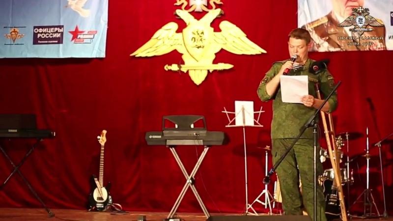 Военнослужащие Армии ДНРприняли участие вконкурсе патриотической песни