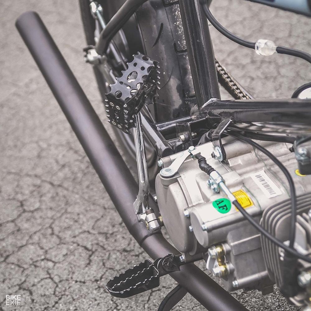 56 Motorcycles: гибрид Honda Cub и BMX