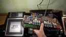 Sharp WF 939Z Пропаивание перемычек основной платы аппарата