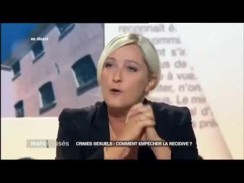 Marine Le Pen dénonce Frédéric Mitterrand Polanski.mp4