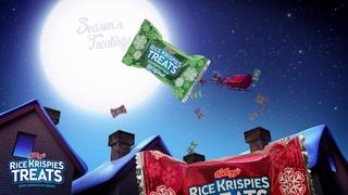 Rice Krispies Treats Holiday Santa Sleigh