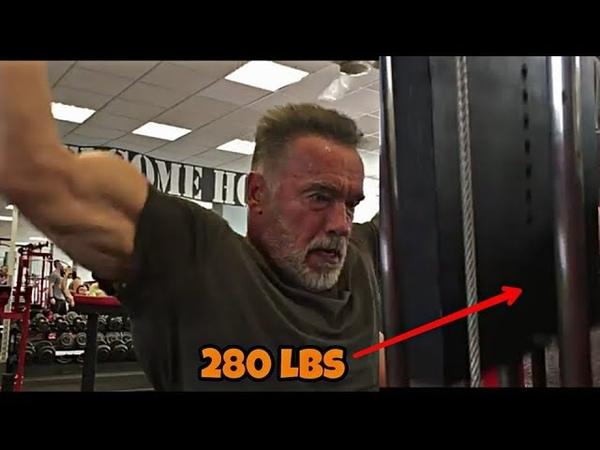 Arnold Schwarzenegger At 71yro Training Heavy 2018 | Bodybuilding Motivation