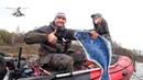 Поехали с сыном за судаком, а клюнул МОНСТР! Папа с сыном на рыбалке