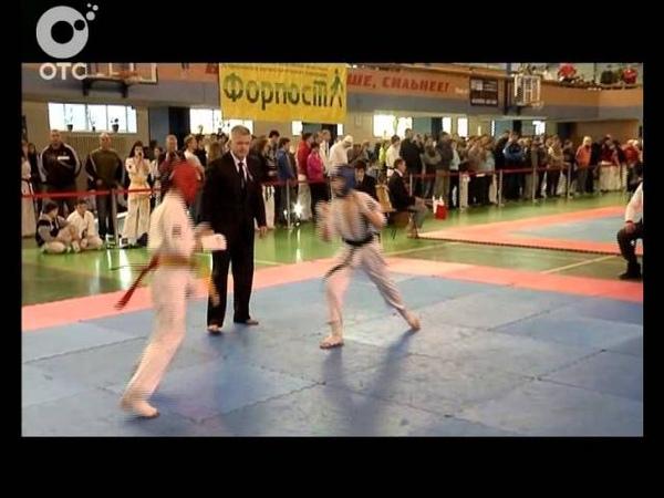 В Новосибирске состоялся новогодний турнир по контактному карате