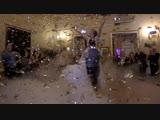 ТЯЖЕЛЫЙ ДЫМ + КОНФЕТТИ ДОЖДЬ = ВОЛШЕБНЫЙ свадебный танец в особняке Демидова. 8 (921) 406-84-88