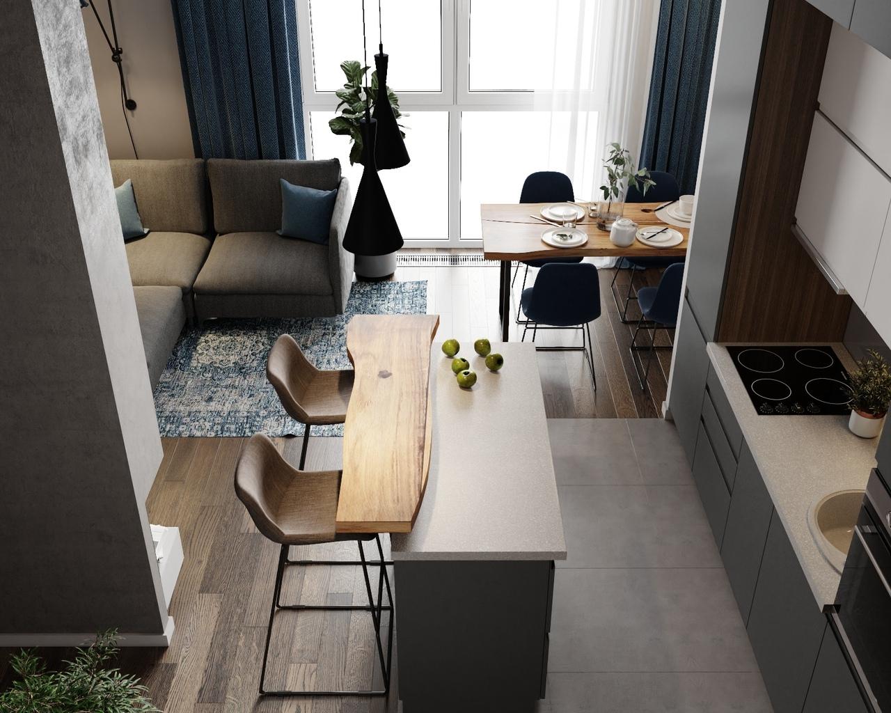 Квартира площадью 70 кв.