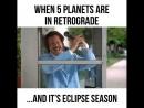 🤣🤣🤣 «Когда одновременно Коридор Затмений и 7 планет в ретрограде»