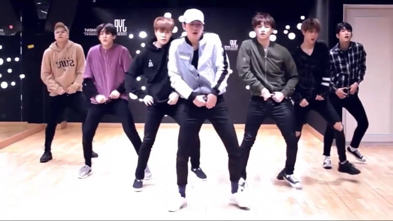 GOT7 Fly Dance Practice Mirrored Slowed