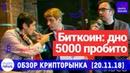Биткоин пять тысяч дно пробито Спускаемся дальше 17 кандидатов в совет NEM