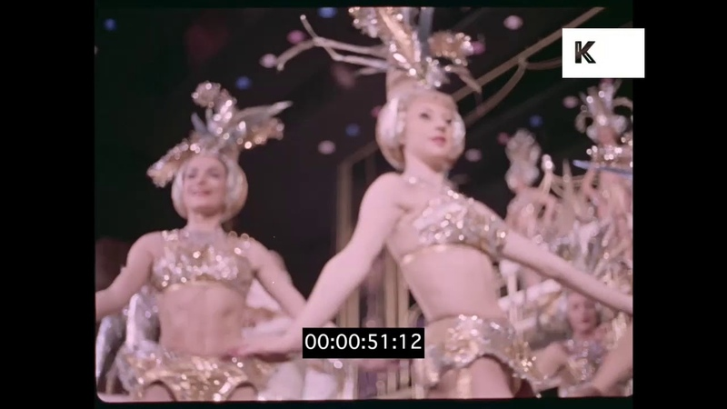 1960s London Nightlife, Cabaret, Showgirls in 35mm