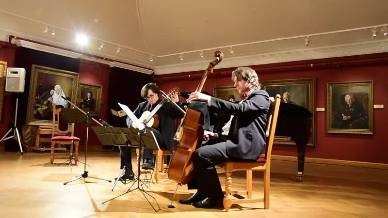 Гранадос Ориенталь и Андалуза для виолончели и гитары