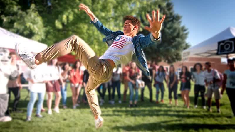 ScottDW HIGH SCHOOL DANCE BATTLE V FRESHMAN DANCE OFF Kaycee Rice Gabe De Guzman Angel Gibbs