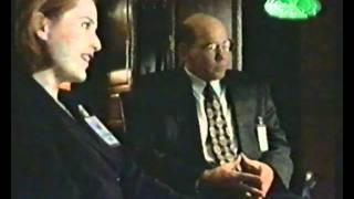 Mulder as FBI special agent