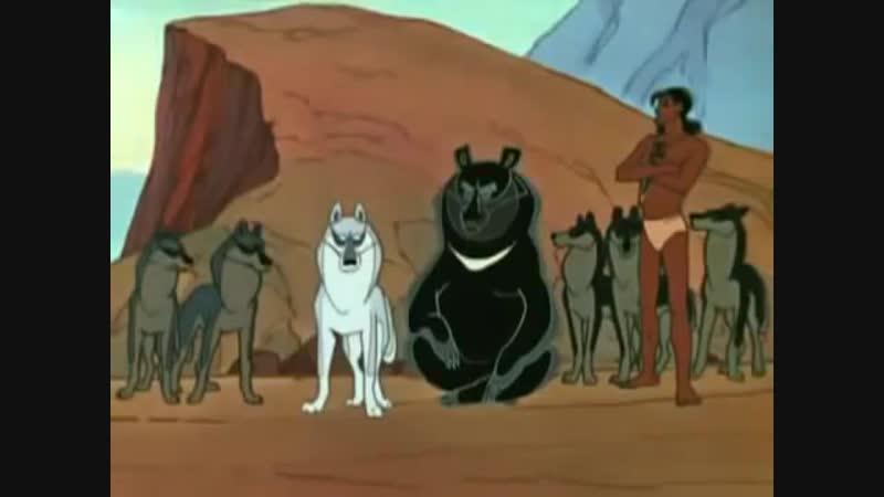 Бой свободной стаи с рыжими собаками