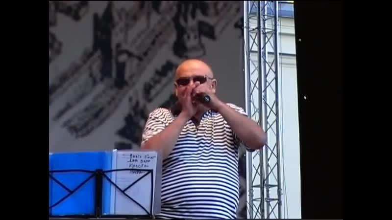 Спартак Арутюнян гр Беломорканал Выступление в г Колпино Санкт Петербург
